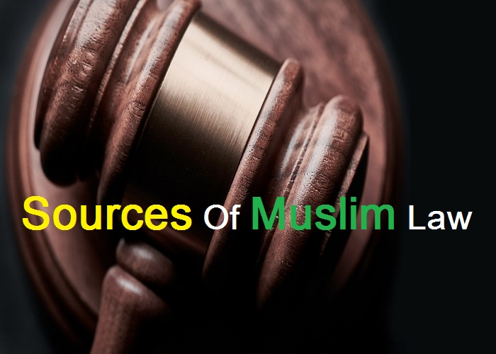 Sources Of Muslim Law_Islam Sunnat